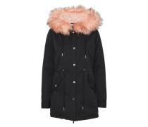 Winterparka 'Peached Teddy Lined'