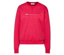 Sweatshirt 'flora' himbeer