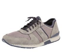 Sneaker mit Mesh-Partien grau