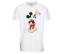 Shirt 'Adam' mischfarben / weiß