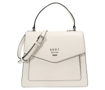 Handtasche 'whitney Satchel-Pebble' weiß