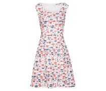 Kleid 'floral Fishnet Stripe'