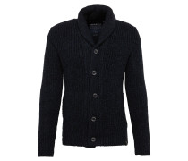 Cardigan 'jacob Shawl' navy / schwarz