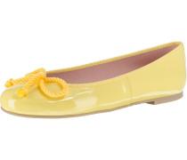 Klassische Ballerinas gelb