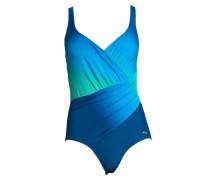 Badeanzug grün / blau