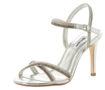 Sandalette 'magdalena' silber