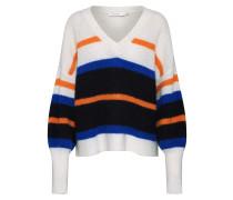 Pullover 'NelaGZ OZ' schwarz / weiß