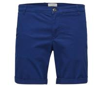 Chino Shorts blau