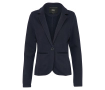 Sweat Blazer 'claudia' dunkelblau