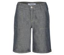 Kurze Jeans 'Gianna Worker' dunkelgrau