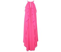 Kleid Rundhals koralle / pink