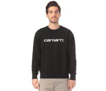 Sweatshirt Sweatshirt schwarz