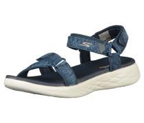 Sandalen blaumeliert