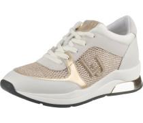 Sneakers 'Karlie' gold / hellgrau