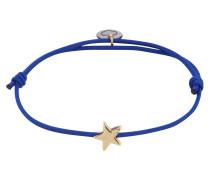 Armband 'Star' blau / gold