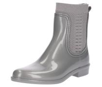 Stiefelette 'rain Boot' silber