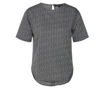 T Shirt dunkelgrau / weiß