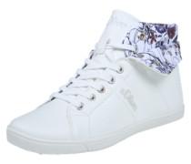 High Top Sneaker weiß