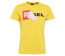 T-Shirt 't-Diego-Qa' mit Marken-Applikation