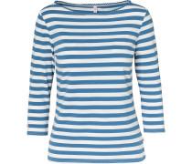 Shirt himmelblau / weiß