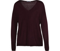 Pullover rotviolett