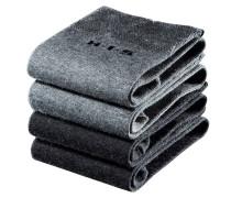 Socken schwarz / grau