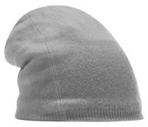 Beanie Mütze hellgrau