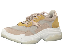 Sneaker 'Chunky' gelb / rosa / weiß