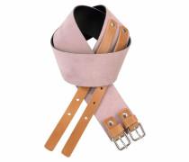 Gürtel hellbraun / rosa
