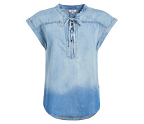 Bluse 'Ella' blau / blue denim