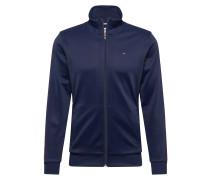 Sweatjacke 'track Jacket' dunkelblau