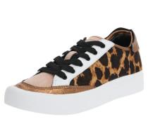 Sneaker 'reesa' braun / weiß