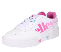 Sneaker 'piacentino' pink / weiß