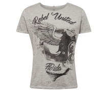 Shirt 'MT Rebels United' silber