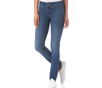Midge Saddle Mid Straight/Ment Superstretch Jeans