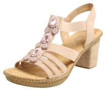 Sandalette rosé