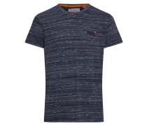 Shirt 'orange Label Vintage EMB Tee' navy