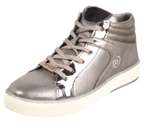 Sneaker Mid greige / silber