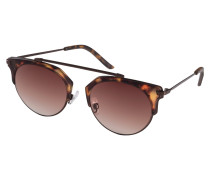 Sonnenbrille 'Lotus' braun