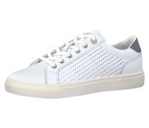 Sneakers Low grau / weiß