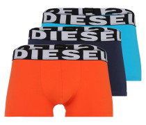 Boxershorts 'Shawn' blau / orange