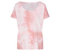 Shirt 'vidream TIE DYE T-Shirt' rosa