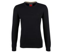 Pullover aus Feinstrick schwarz