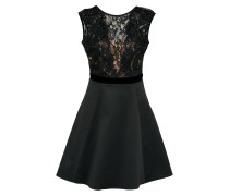 Kleid 'black Faux Pearl Lace TOP Prom'