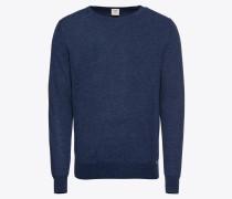 Pullover 'Strick Lvl5 Merino / Seide' blau