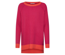 Pullover fuchsia / orangerot
