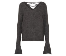 Pullover 'lace' anthrazit