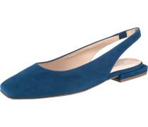 Klassische Ballerinas royalblau