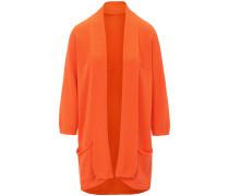 Strickjacke orange