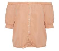 Off-Shoulder Bluse ''nmendi' apricot